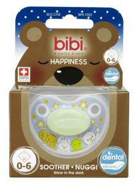 Bibi - Soother Silicone - Glow In The Dark- 0 - 6 Months